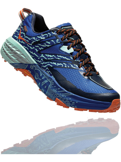 Hoka One One Speedgoat 3 Wp - Zapatillas running Mujer - azul